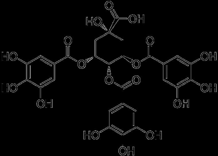 3,4,5-Tri-O-galloylquinic_acid